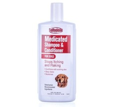 Sulfodene Medicated Dog Shampoo & Conditioner in 1 bottle - 12 oz - $16.83