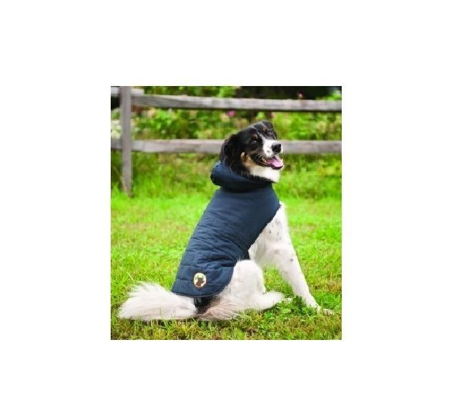 Primary image for All Weather Quilted Coat for Dogs - M - L - Outdoor - water proof coating !