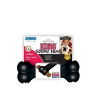 "KONG Goodie Bone for Dogs - Black - 7"" - holds treats - Dogs stay busy! - $22.41 CAD"