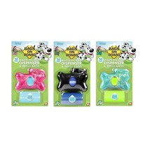BRAMTON Bags On Board Dispenser for Dogs - Bone - attaches to any leash ! - $12.55