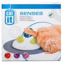Massage Center for Cat Toy - luxurious pampering experience - groom body - £28.71 GBP