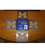 Michigan Wolverines Boaster Coasters Sportula P... - $14.99