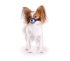 Quick Muzzle for Dogs - XSmall - Blue - Adjustable straps - efficient - $9.01