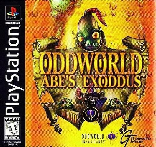 Primary image for Oddworld Abe's Exoddus PS1 Great Condition Fast Shipping