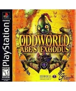 Oddworld Abe's Exoddus PS1 Great Condition Fast Shipping - $13.44