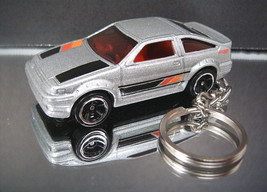 Toyota Corolla Key Chain Ring Silver 1983-1987 ... - $14.54