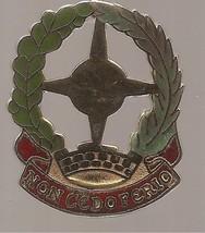 Vintage US Army DI Crest 3rd Air Defense Artillery Regiment Enameled Metal Pin - $5.00