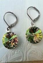 Bridal Earrings, Swarovski. For sensitive skin. - $24.75