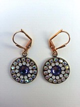 Bridal earrings, Swarovski, European crystals. For sensitive skin. Free ... - $34.65