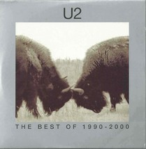 U2 - THE BEST OF 1990-2000 THE HISTORY MIX 2002 EU PROMO DVD CARD SLEEVE... - $13.26
