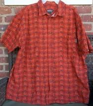 Woolrich 2XL Shirt Short Sleeve Brick Kayaks Hidden Pocket Button Down C... - $24.74