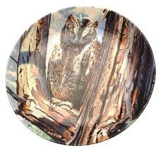 Wedgwood owl plate The Majesty of Owls Scops Owl Trevor Boyer CP1507 - $48.99
