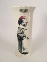 Kim Anderson by Enesco Pretty as a Picture Vase - $12.82