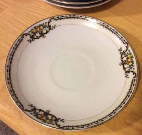 Primary image for Vintage Noritake Saucers Lasalle (7) Japan