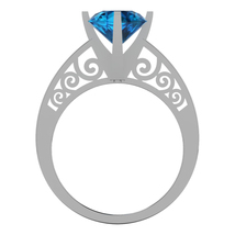 Gothic Engagement Ring Temple of the Ancient Dr... - $109.99