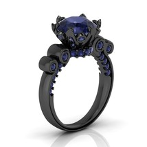 Gothic Engagement Ring Temple of the Ancient Dr... - $199.99