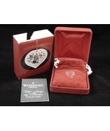 Waterford Crystal Joys Of Winter Ice Skaters Christmas Ornament 2001 4th... - $19.79