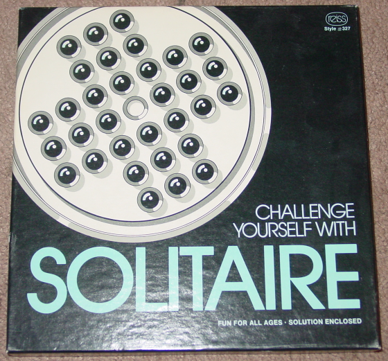 Primary image for SOLITAIRE  GAME 1978 REISS GAMES MADE IN USA COMPLETE EXCELLENT