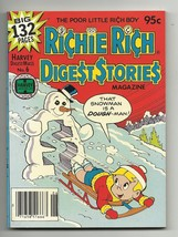 Richie Rich Digest Stories Magazine #6 - Harvey File Copy - NM- 9.2 - Ca... - $6.71