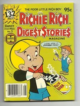 Richie Rich Digest Stories Magazine #5 - Harvey File Copy - NM- 9.2 - Ca... - $7.67