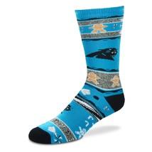 NFL Carolina Panthers Ugly Christmas Sweater Unisex Crew Cut Socks - Medium - $10.95