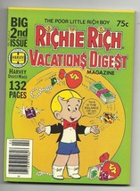 Richie Rich Vacations Digest #2 - Harvey File Copy - NM- 9.2 - Gloria - ... - $9.59