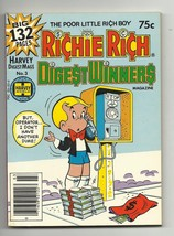 Richie Rich Digest Winners #3 - Harvey File Copy - NM- 9.2 - Little Dot - Casper - $6.71