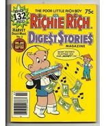 Richie Rich Digest Stories Magazine #3 - Harvey File Copy - NM- 9.2 - Irona - $7.67