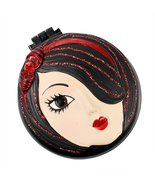 Tina Compact Mirror with Popup Brush - $8.99