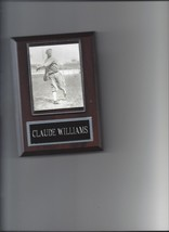 CLAUDE LEFTY WILLIAMS PLAQUE BLACK SOX BASEBALL 1919 CHICAGO WHITE SOX MLB - $2.47