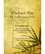 Wisdom's Way - The Art of Listening Within - 72 Audio Guided Aphorisms 5... - $79.99