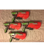 Lot of 4 Nerf Vortex Gun Vigilon Soft Disc Blasters - $64.95