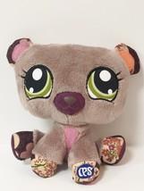 "2009 Hasbro Littlest Pet Shop LPS Bear 6"" Plush - $5.68"