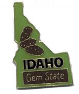 12 State Pins - IDAHO , hat lapel pin #4598 - $8.00