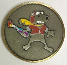 USAF Air Force 906th ARS Air Refueling Sq Global Refueling SNOOPY Red Baron Coin - $74.24