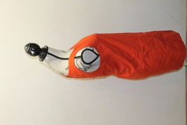 J.Crew Little Orange Women Dress Sz 2 P Mini Skirt Pinafore Sleeveless  Cotton image 3