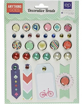 Echo Park - Anything Goes Decorative Brads 29 pc (Family, Friends, Every... - $1.99