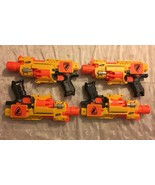 Lot of 4 Nerf N-Strike Barricade RV-10 Semi Auto Motorized Dart Blaster ... - $64.95