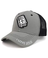 Trendy Apparel Shop High Frequency Holy Bible Structured Meshback Cap - ... - $14.99