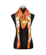 Designer Style Large Square Scarf Silk Like Premium Quality -Indian ViVe... - $18.99