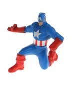 "3"" Captain America Action Figure Super Hero Marvel Heroes Comics 2010 Bl... - $2.96"