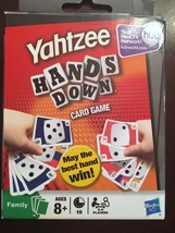 Yahtzee Hands Down Playing Card Game 2-6 Players Age 8+ - $5.93