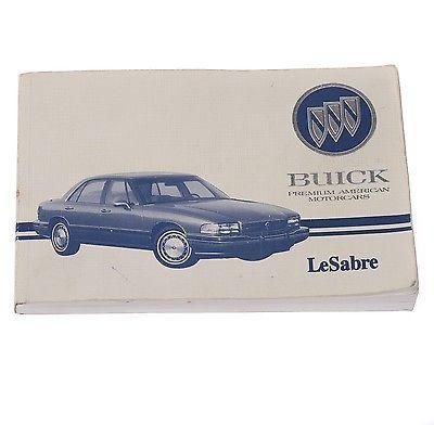 1993 buick lesabre owner s manual guide and similar items rh bonanza com 1994 Buick LeSabre 2000 Buick LeSabre