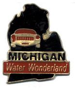 12 State Pins - MICHIGAN , states hat lapel pin #151 - $8.00