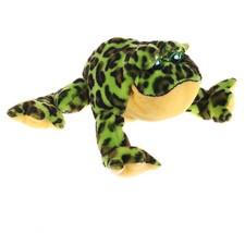 Webkinz Green Bull Frog BullFrog Amphibian Stuf... - $3.95