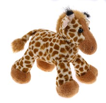 Wild Republic Stuff Plush Beanbag Animal Giraffe Baby Finger Puppet - $6.92