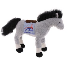 TY Durby 133 Grey Horse Thoroughbred Kentucky 2006 Plush Stuffed Animal - $3.95