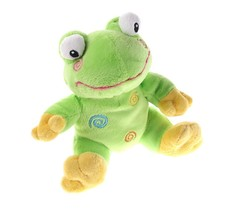 DanDee Linyi Frog Amphibian Stuff Animal Plush Baby Toy Dan Dee - $3.95