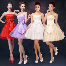 Womens Short Formal Dress Cocktail Prom Ball Gown Evening Party Bridesmaid Dress - $14.99