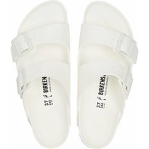 Birkenstock Womens Arizona Eva White Double Straps Narrow Fashion Sandals 129443 - $79.99